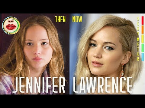 Jennifer Lawrence Then and Now in Movies and TV Show Time Lapse