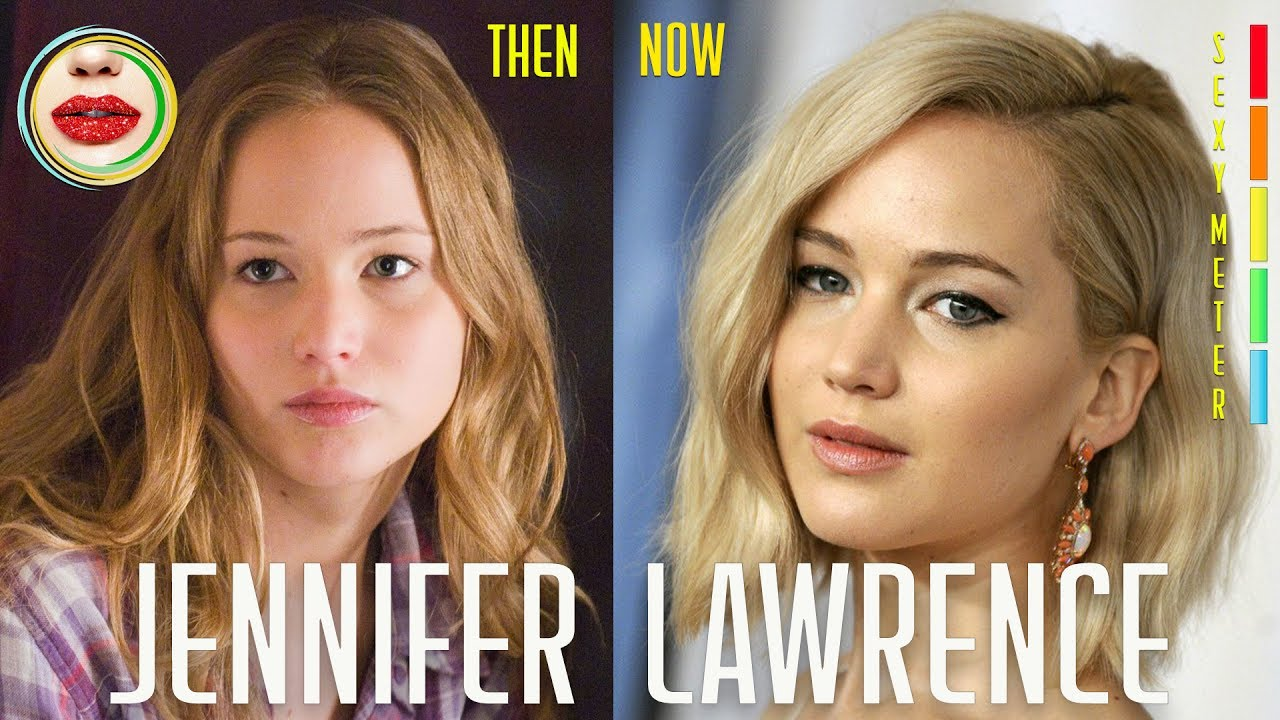 Jennifer Lawrence Then and Now in Movies and TV Show Time ...