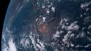 Earth Timelapse - 21st April 2018