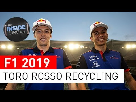 TORO ROSSO: RECYCLED TALENT