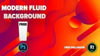 Modern Fluid Effect #2 - Nasıl Yapılır - Adobe Photoshop CC 2019