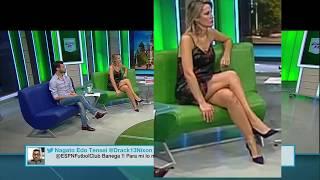 Carolina Losada sexy crossed legs