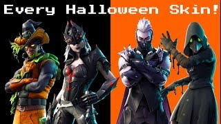 Ranking *EVERY HALLOWEEN SKIN* In Fortnite: Battle Royale!