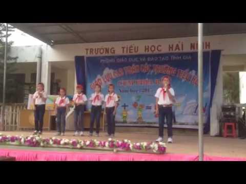 Màn chào hỏi đặc sắc nhất: Giao lưu tiếng Việt- Năm học 2015- 2016
