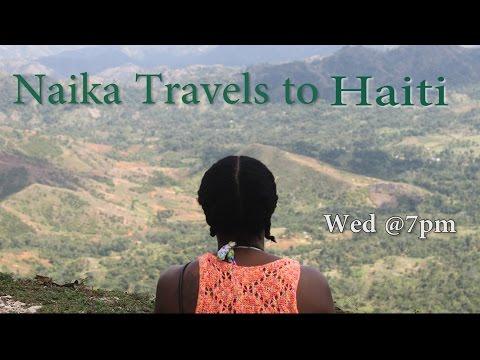 Naika travels to Haiti