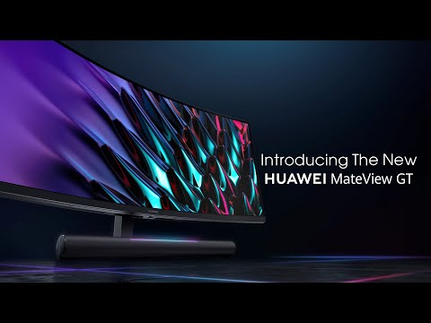 Introducing The New HUAWEI MateView GT