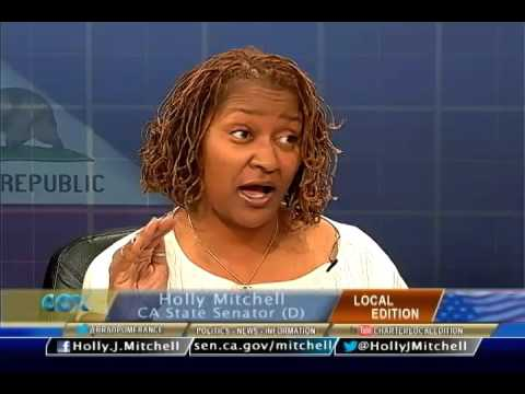 Local Edition with CA State Senator Holly Mitchell (D)