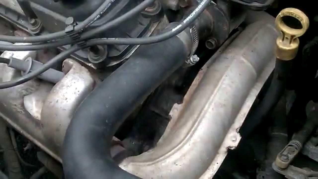 2000 Ford Explorer Radiator Diagram Cat 5 6 Wiring 05 Grand Caravan 3.3l Thermostat Housing&gasket Rant - Youtube
