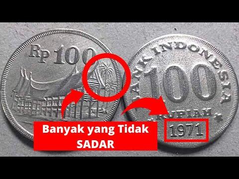 Uang Kuno Koin 100 Rupiah Tebal Tahun 1971 Yang Lagi Naik Daun