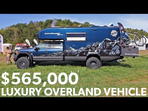 What a $565,000 Overland Vehicle Looks Like - EarthRoamer Luxury Expedition Vehicle Rig Walkaround