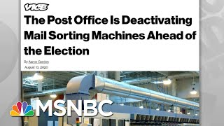 Widespread Public Outrage Halts Post Office Removal Of Mailboxes | Rachel Maddow | MSNBC