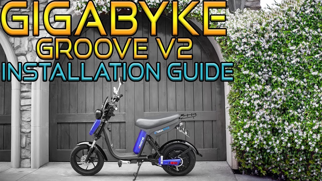 7e6ae5ff196 How to Assemble a GigaByke Groove V2 - Electric Bicycle Set Up Guide ...
