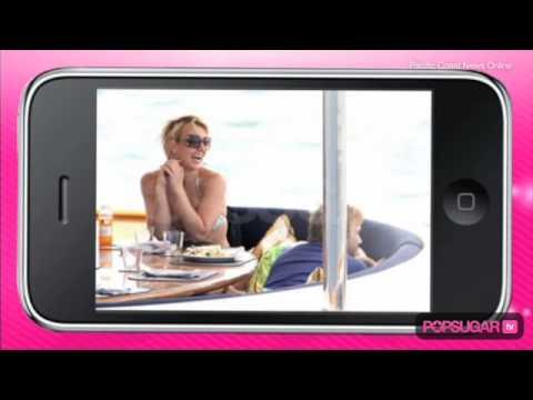 Britney Spears, Jason Trawick, & the Boys Enjoy Australia by Yacht