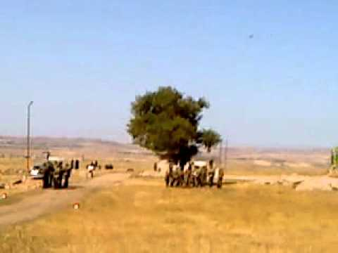 Самолет почти над землей. Армения. Гюмри. 102 военная база в Армении.