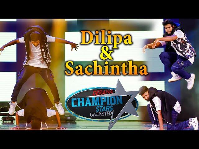 Dilipa & Sachintha Dance   Derana Champion Stars Unlimited