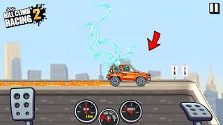 Hill Climb Racing 2 - 17870m oฑ ELECTIC CAR in CITY   GAMEPLAY