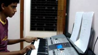 KEYBOARD NOTES JANA GANA MANA