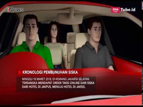 Begini Kronologi Sopir Taksi Online Kembar Bunuh Siska Di Cibinong - Special Report 21/03