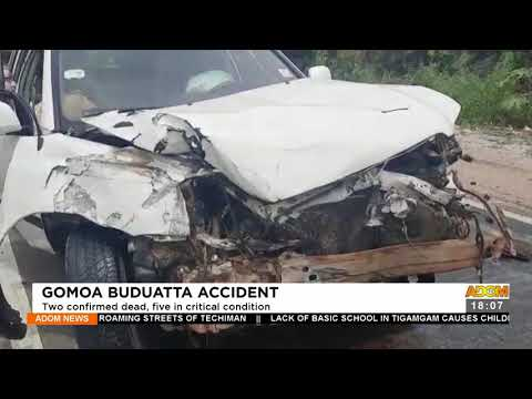 Gomoa Buduatta Accident: Two confirmed dead, five in critical condition – Adom TV News (22-9-21)