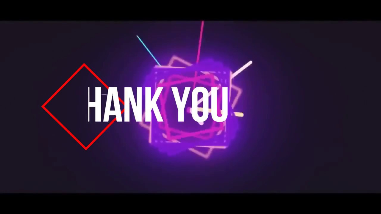 Thank You Video Effect Youtube