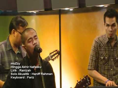 Hingga Akhir Nafasku - muZzy Live@MHI TV3
