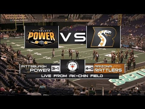 Arizona Rattlers vs Pittsburgh Power - Game Highlights