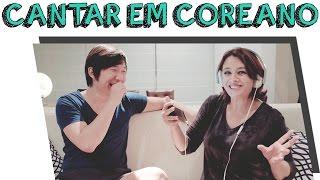 CATIA FONSECA - CANTANDO EM COREANO