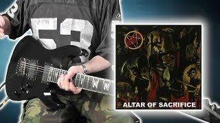 Slayer - Altar Of Sacrifice - guitar cover with solo