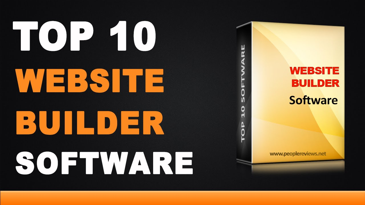 Best Website Builder Software Top 10 List Youtube