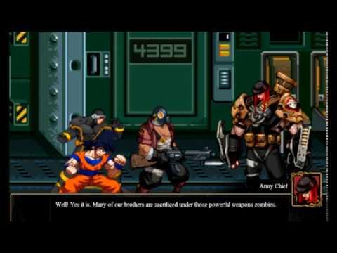 Goku and Cyclops Crazy Zombie 9 Eschatology 2 Player coop