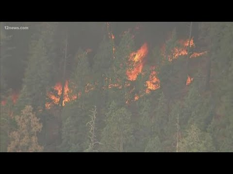 Museum Fire Near Flagstaff Burning More Than 1,800 Acres