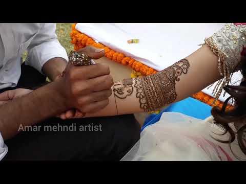 Mehndi artist in lucknow art by amar