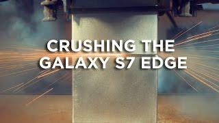آلة هيدروليكية بقوة 400 طن تسحق Galaxy S7 Edge في فيديو دراماتيكي