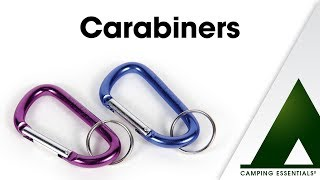 Camping Essentials: Carabiners