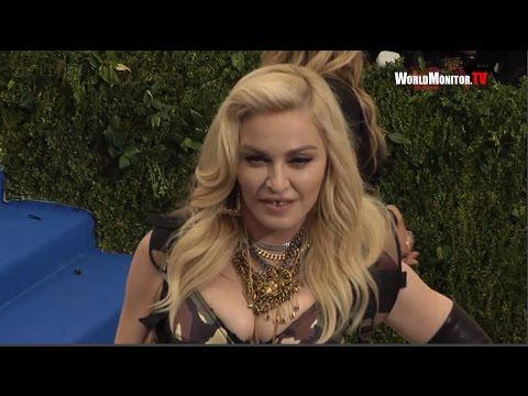 Madonna arrives at 2017 Met Gala