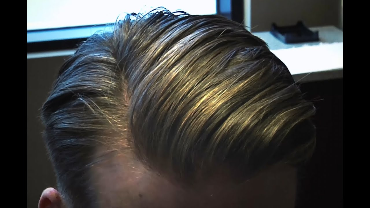 Justin Timberlake Slick Side Part Hairstyle Style Progress Mens