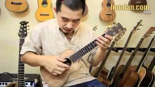 Hướng dẫn chơi Ukulele bài Mặt trời bé con - Trần Tiến [hieu orion]