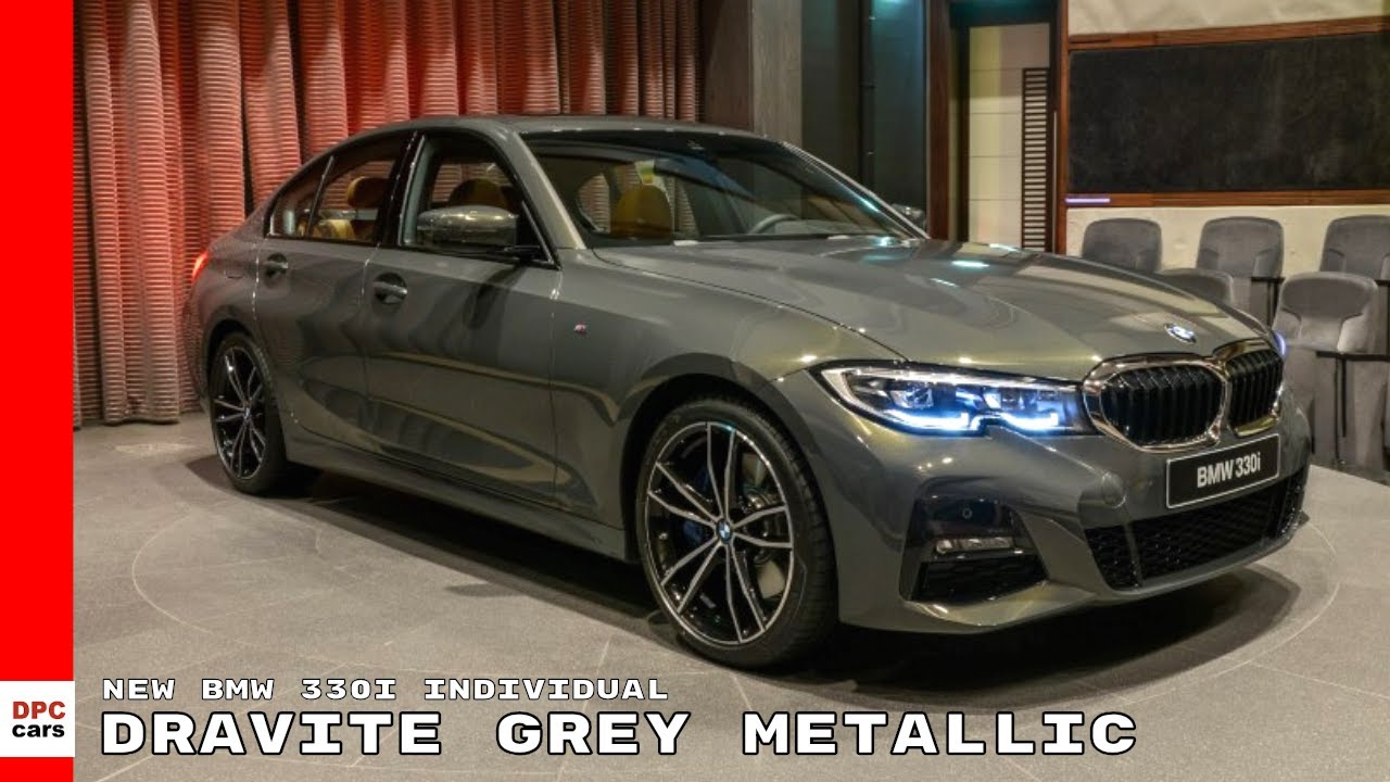 New Bmw 330i 3 Series Individual In Dravite Grey Metallic