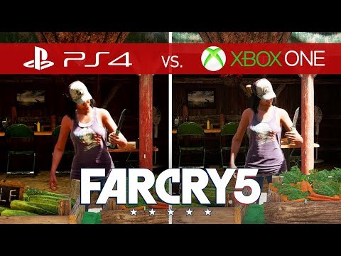 Far Cry 5 Comparison - Xbox One vs. Xbox One S vs. Xbox One X vs. PS4 vs. PS4 Pro