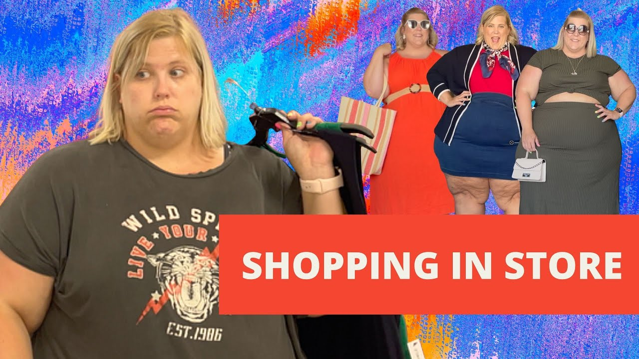 Shopping Plus In-Store Is The Worst...  Plus Size Summer Try On Haul and Look Book
