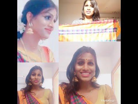 How to drape a cotton saree ( Trans diva )