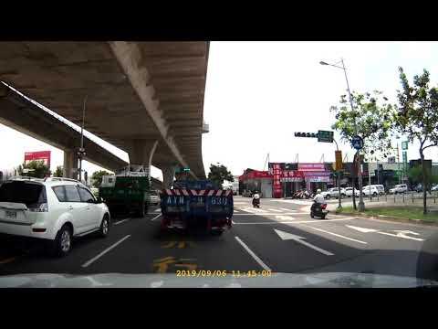 馬路三寶之單行道逆向,一台汽車,帶兩輛摩托車,名副其實的三寶,1:50秒處開始