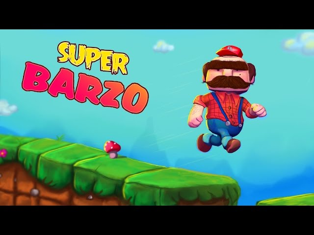 """Super Barzo""   Free side-scroller platform game for  mobile"