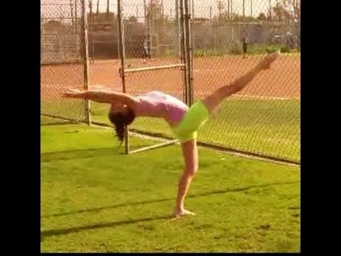 How to Do a Back Walkover - Sports and Martial Arts in the