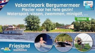 Ontdek Friesland vakantiepark Bergumermeer - Camping met zwembad, watersport, vissen, minigolf, ...