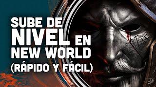 Sube de NIVEL FÁCIL y RÁPIDO en NEW WORLD con este TRUCO #shorts