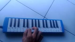 Di antara (BERIBU BINTANG) pianika BY ABIN KARMUL
