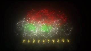 Virtual Fireworks with Music: FWSim thumbnail