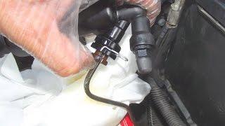 changement récepteur hydraulique  embrayage moteur 2l hdi 307