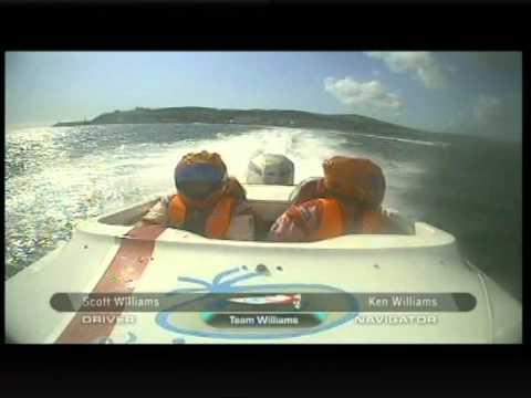 2009 HONDA 4STROKE Powerboats Round 5 Isle Of Man GP Highlights